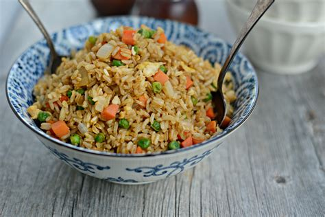 Rice L by Simply Scratch Easy Vegetable Fried Brown Rice With Egg