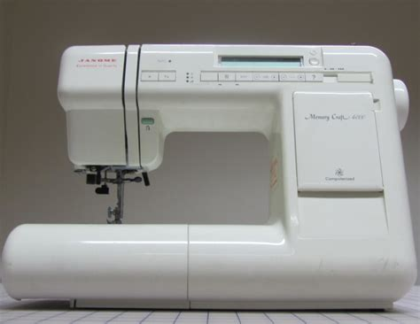 Janome Memory Craft janome memory craft 4000 reconditioned reconditioned model buy reconditioned model uk