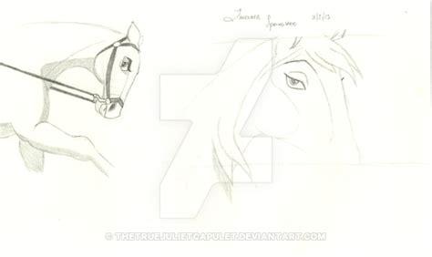spirit 2 stallion of the cimarron drawings 2 drawings from spirit stallion of the cimarron by