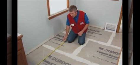 Installing Porcelain Tile How To Install A Ceramic Or Porcelain Tile Floor With Lowe S 171 Construction Repair Wonderhowto
