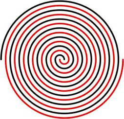 Spiral cloud drawing how to draw a perfect spiral