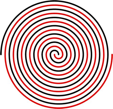 spiral pattern illustrator how to draw a perfect spiral in illustrator video