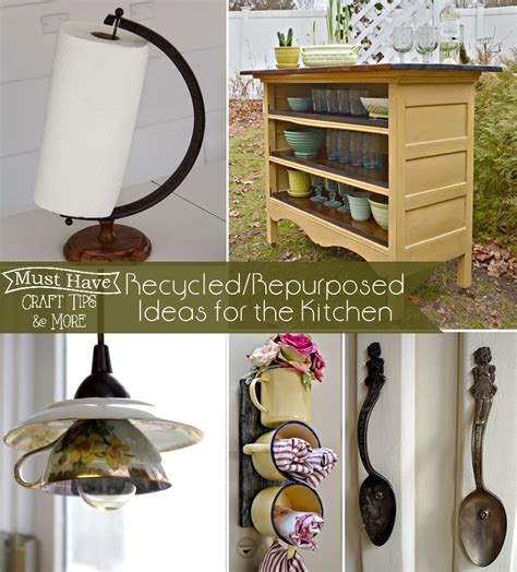 Experiments With Kitchen Items Recycled Repurposed Ideas For The Kitchen The Scrap Shoppe
