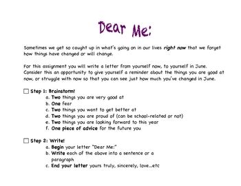 dear dear dear me letters of healing for growing up without a books dear me reflection goal setting letter by