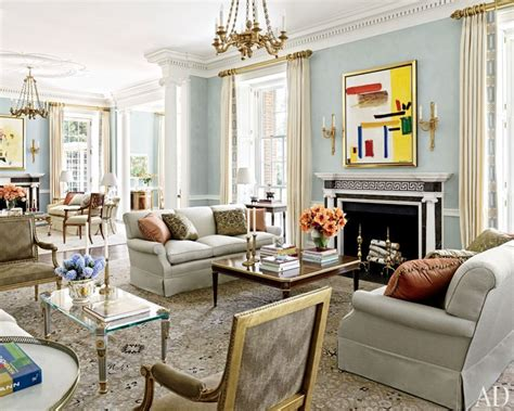 the living room houston allan greenberg and elissa cullman craft a federal style