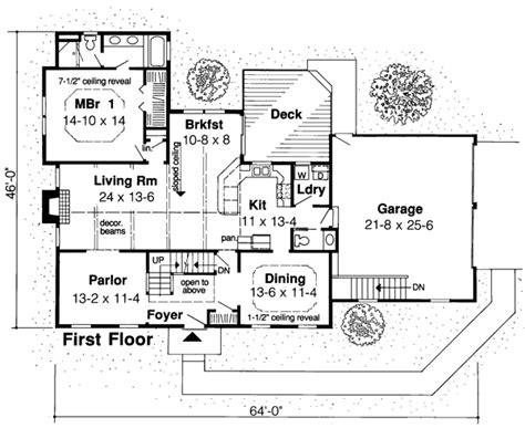 saltbox floor plans house plan 20136 at familyhomeplans com