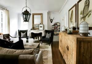 Decorating Ideas Vintage Living Rooms Farmhouse Living Room Decorating With White Sofa And