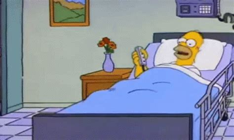 bed gif bed goes up bed goes down the simpsons gif