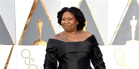 whoopi goldberg tattoo whoopi goldberg shows on oscars