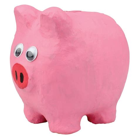 How To Make Paper Mache Piggy Bank - papier mache piggy bank cleverpatch