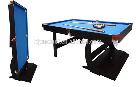 Folding Pool Table 8ft 4ft 5ft 6ft 7ft Indoor Sport Superior Stand Up Pool Table Folding Leg Snooker Table Buy
