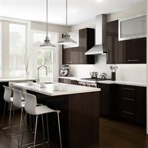 White And Brown Kitchen Cabinets Kitchen Backsplash Ideas White Cabinets Brown Countertop