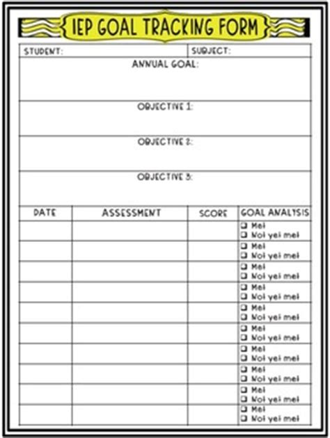 Track Hotwheel With Three Goals 6 iep goal tracking forms printable pictures to pin on pinsdaddy