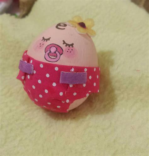 huevos decorados para la escuela huevo decorado como hermosa bebe creaciones con huevos