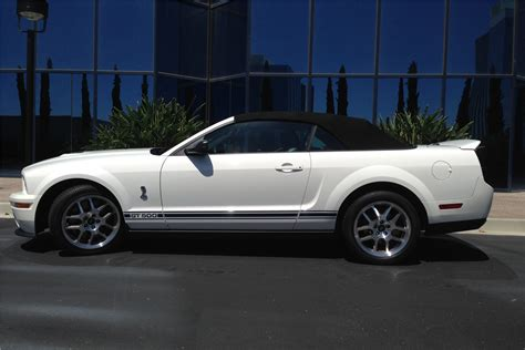 mustang gt500 convertible 2007 ford mustang shelby gt500 convertible 200563