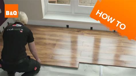 How To Run Laminate Flooring by How To Lay Flooring Part 3 Laying Locking Laminate