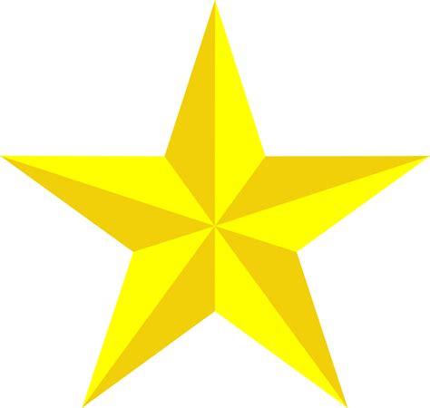 clipart bintang gambar vektor gratis bintang kuning 3d gambar gratis
