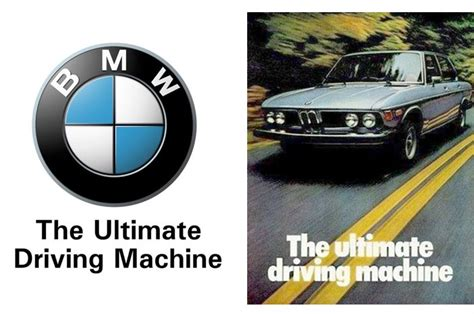 bmw slogan the ultimate driving caign