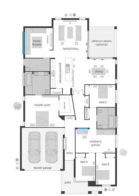 vacation rental house plans beach house floor plans new zealand home deco plans