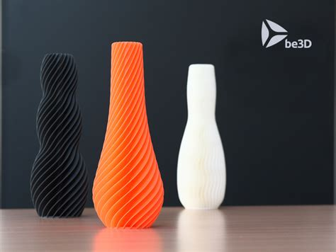 spiral vase by ysoft be3d thingiverse