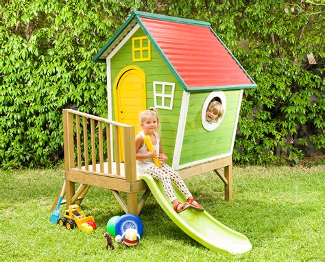 cubby house with swing and slide cabana cubby house cubby houses swing slide climb