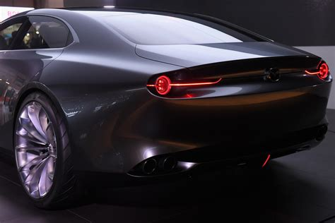 mazda supercar mazda vision concept looks like a proper four door