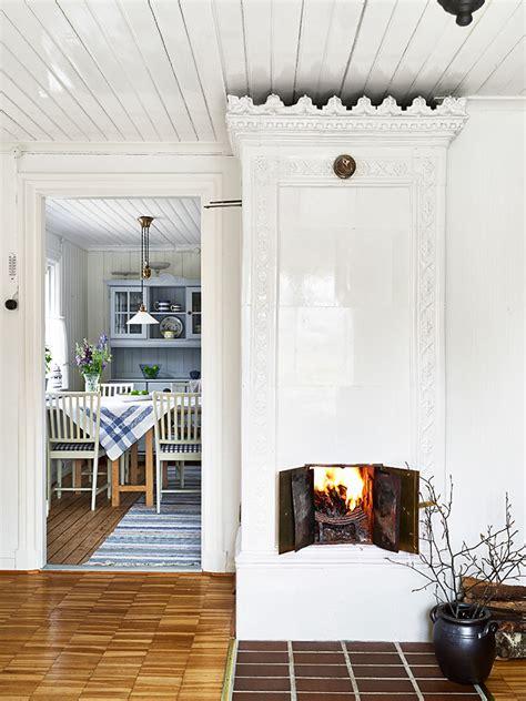 swedish fireplace swedish summer cottage sa d 233 cor design blog