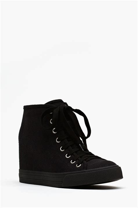 wedge sneakers black jeffrey cbell gela wedge sneaker black sneaker cabinet