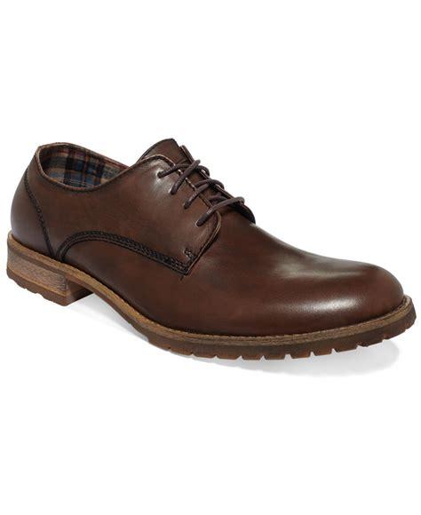bed stu oxfords bed stu bed stu carson plain toe oxfords in brown for men