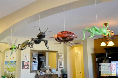 Home Made Halloween Decoration Ideas creepy crawly birthday party brie brie blooms