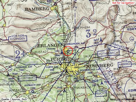 map of erlangen germany erlangen army airfield aaf airfield directory