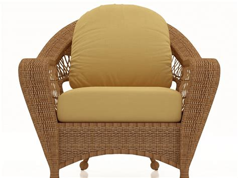 rattan sofa wicker cushion and back seat cushion