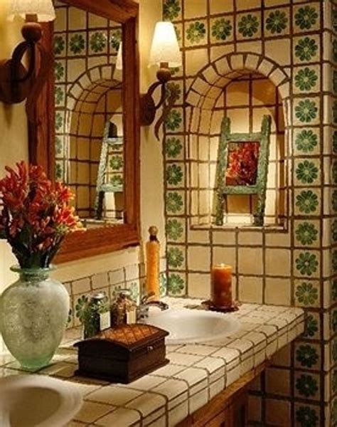 tiles  stunning  mexican decor ideas