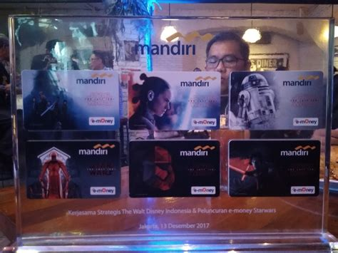 1 Set Mandiri Emoney Wars The Last Jedi 6 Pcs E Money kini emoney wars the last jedi sudah ada windah saputro