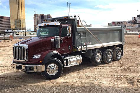 international truck show las vegas navistar hopes to recapture work truck leadership with hx