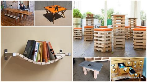 repurpose your items to make furniture and