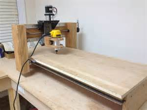 build a machine building a wood cnc router from scratch hackaday