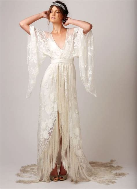Vintage Chic Wedding Dresses by 18 Bomemian Chic Summer Wedding Dresses For The