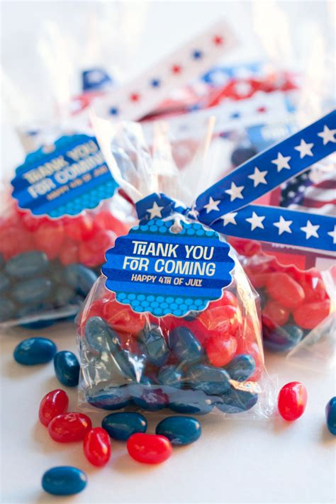 diy wedding favor bags with a twist 4th of july favors diy twist ties inspiration
