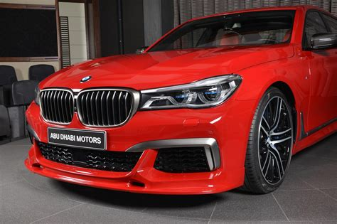 bmw red imola red bmw m760li could brighten up anyone s day