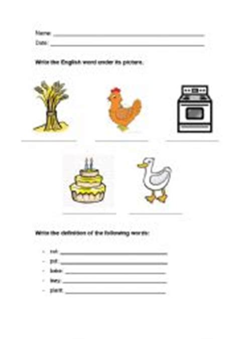 The Hen Worksheets Free by Worksheets The Hen