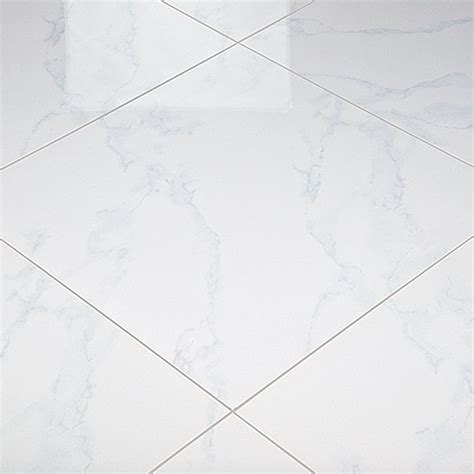 Fliesen Hochglanz Polieren by Feinsteinzeugfliese Carrara 60 X 60 Cm Wei 223 Poliert
