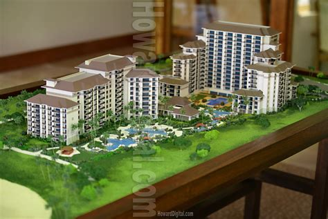 how to make a scale model of a room scale models villas at ko olina architectural model