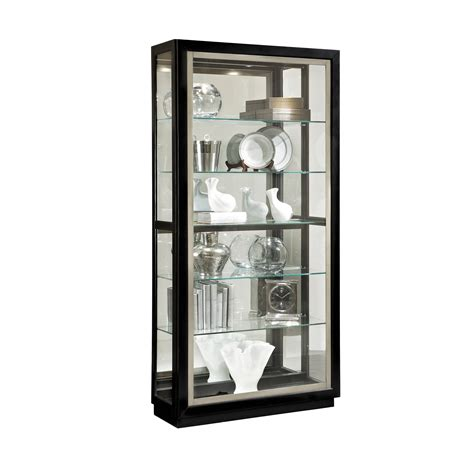 metal and wood curio cabinet black wood glass metal curio cabinet w adjustable glass