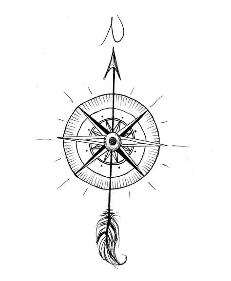 simple compass tattoo designs compass design photo 4 pinned by your for