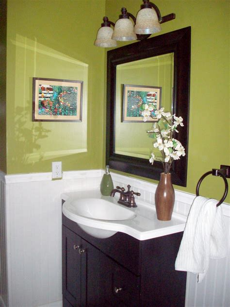 green and brown bathroom decorating ideas colorful bathrooms from hgtv fans bathroom ideas