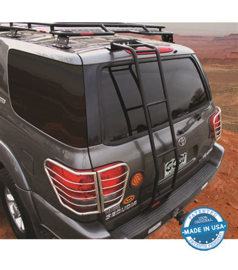 Sequoia Roof Rack by Gobi Toyota Sequoia 01 07 Rear Ladder Driver Side
