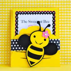 Bumble Bee Invite Etsy Custom Bumble Bee Invitations Set Of 12 By Prettypaperparty