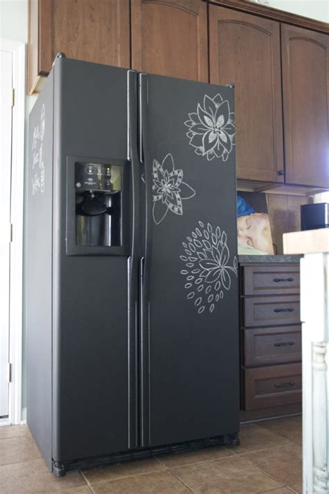 chalkboard painting a refrigerator 20 cool chalkboard paint ideas hative