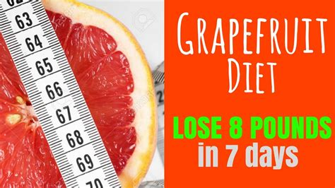 Greipfrut In A Detox Diet by How To Use Grapefruit For Weight Loss 7 Day Diet Plan